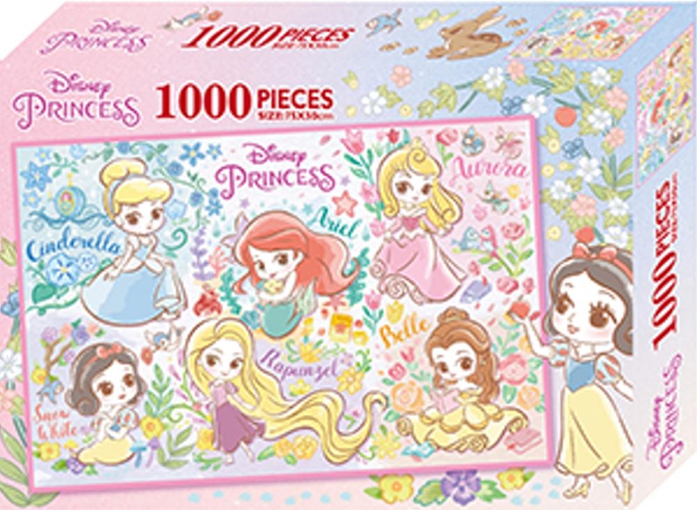 迪士尼公主 1000片盒裝拼圖(C)