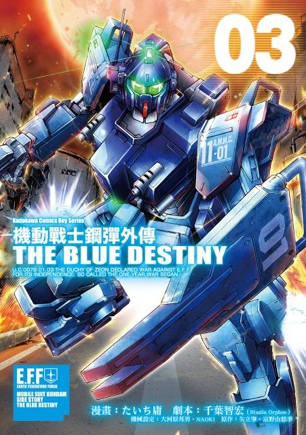 機動戰士鋼彈外傳 THE BLUE DESTINY (3)