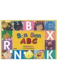 Bon Bon ABC字母形狀與發音概念書(1CD+1DVD) 新版