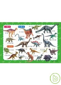 恐龍拼拼樂(54片拼圖)