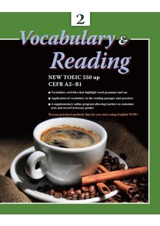 大專用書:Vocabulary & Reading 2 (書+CD)