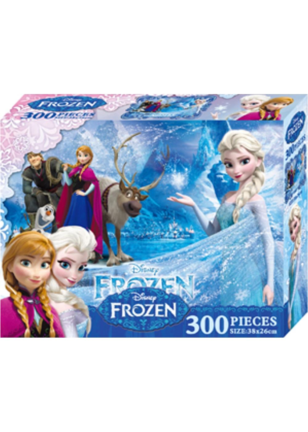 冰雪奇緣 300片盒裝拼圖(B)