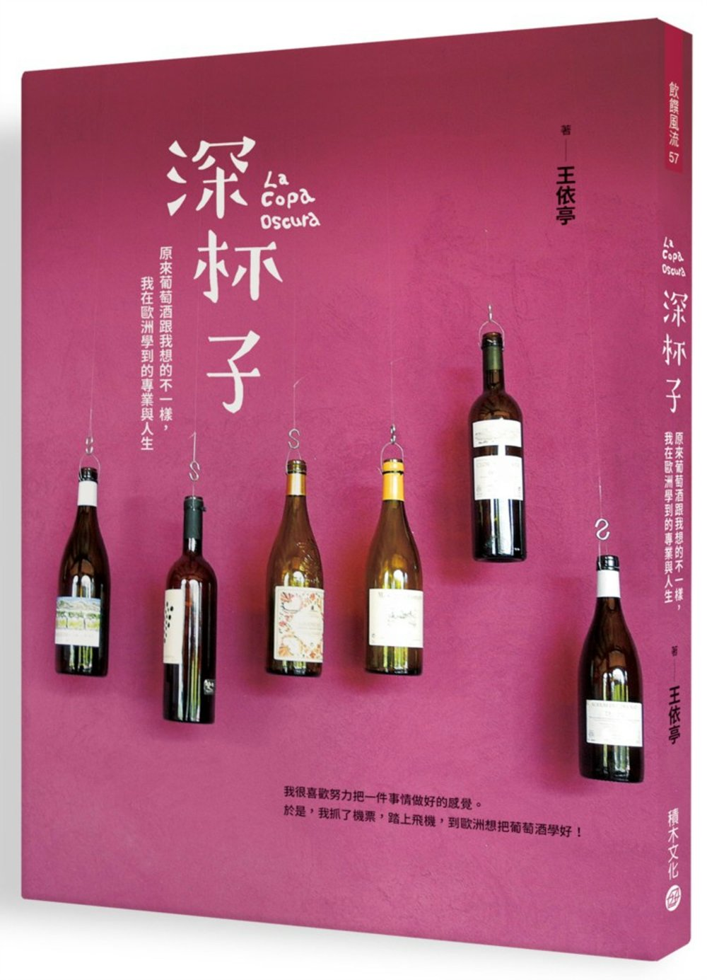 深杯子:原來葡萄酒跟我想的不一樣,我在歐洲學到的專業與人生