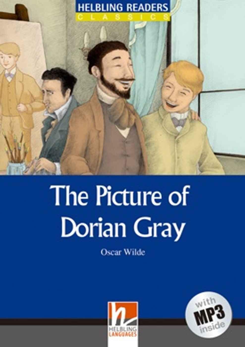 The Picture of Dorian Gray(25K彩圖經典文學改寫+1 MP3)
