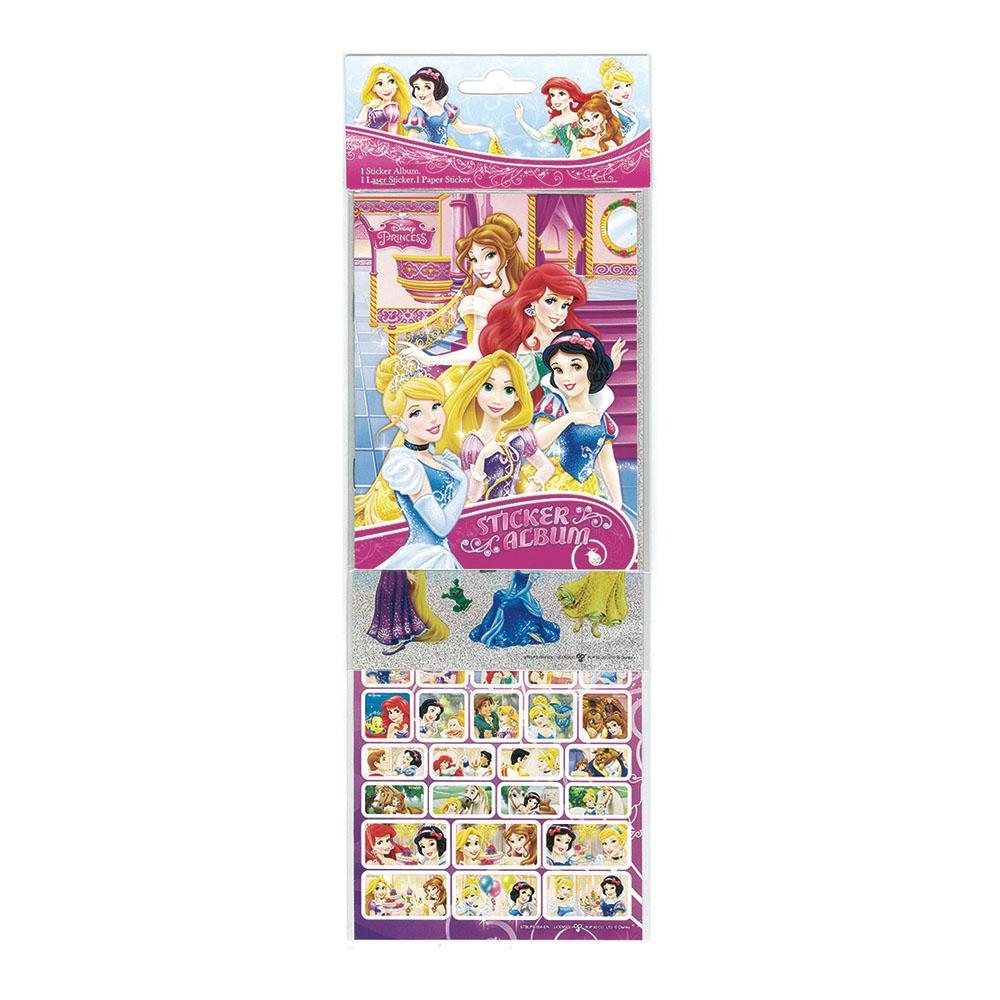 迪士尼公主三層貼紙組-1