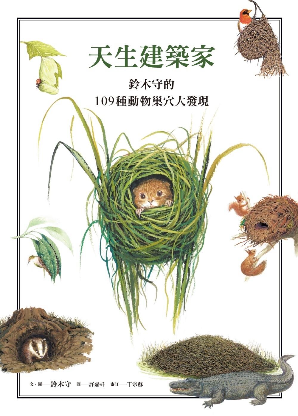 天生建築家:鈴木守的109種動物巢穴大發現