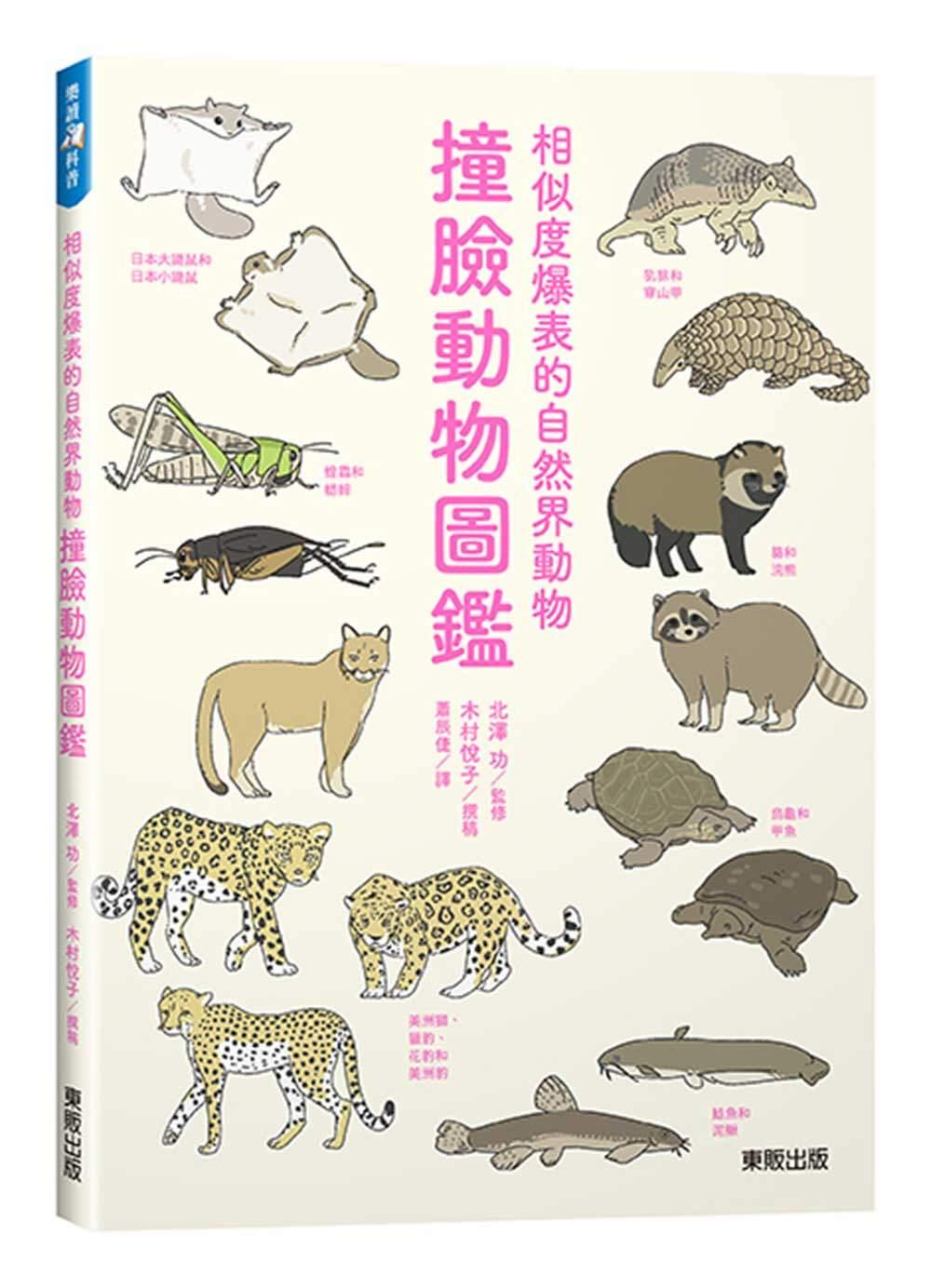 撞臉動物圖鑑:相似度爆表的自然界動物
