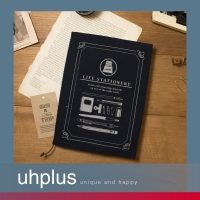 【代購】uhplus Life Stationery/ink 職人書衣(藍)