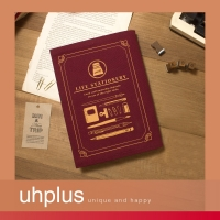 【代購】uhplus Life Stationery/ink 職人書衣(紅)